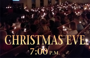 Candlelight Service 7pm